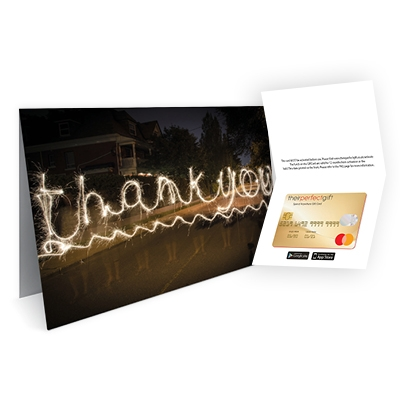 Thank you - from £0.49 per card
